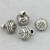 Vintage 925 Silver Lucky Symbol Charm Sterling SIlver Good Luck Charm Small Pendant