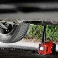 Бесплатная доставка портативный мини Электрический гидравлический автомобильный домкрат с накачивающим насосом