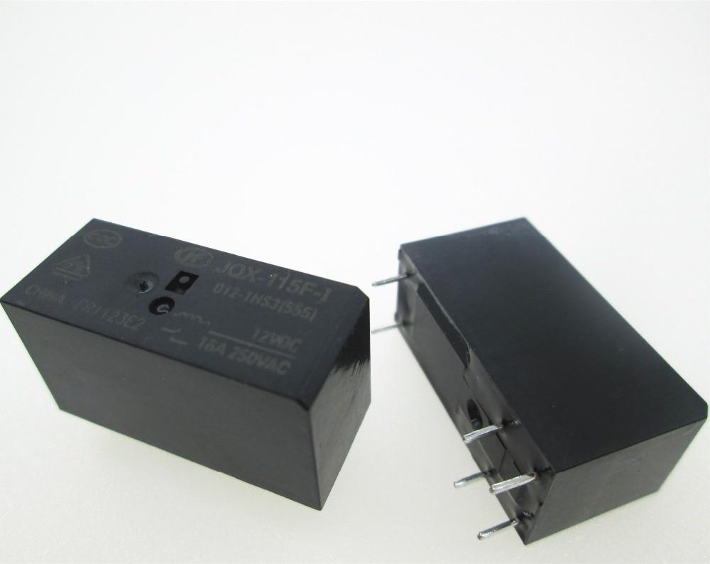 relé jqx 115f - NEW 12V relay JQX-115F-012-1HS3 12VDC HF115F JQX-115F 012-1HS3 JQX-115F 012-1HS3 12VDC DC12V 12V 16A 250VAC DIP6
