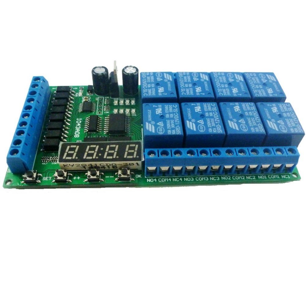 Circui Continue Readin Led Sequencers All About Celebrities Christmas Lights Circuit Ledandlightcircuit Diagram 8ch Dc 12v Multifunction Delay Module Cycle Timer Switch For Power Sequencer Motor Plc Lathe