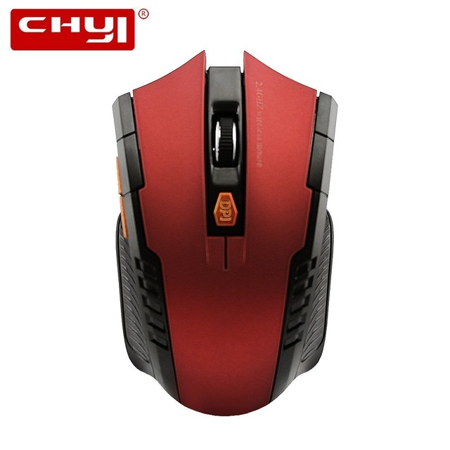 9efd331fdb4 CHYI Wireless Game Mouse Ergonomic 2.4Ghz 800-1200-1600 DPI 6D Optical  Gaming