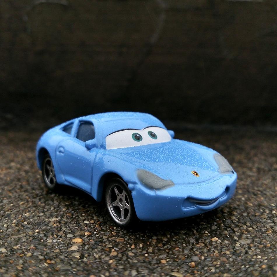 Disney Pixar тачки 3 20 стильные игрушки для детей Молния Маккуин Высокое качество Пластиковые тачки игрушки модели персонажей из мультфильмов рождественские подарки - Цвет: 14