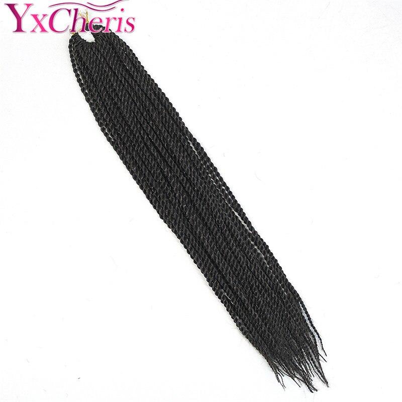 14 18 pulgadas Kanekalon extensiones de cabello Ombre púrpura ...