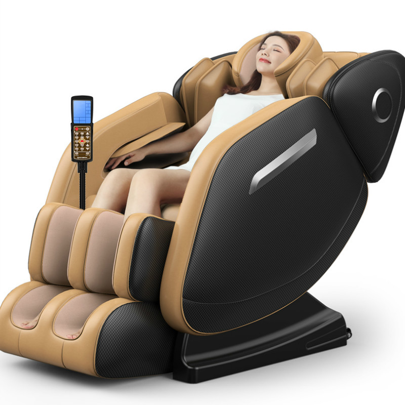 New 8D Full-body Zero Gravity Automatic Electric Massage Chair Kneading Capsule Multifunctional Shiatsu Massager With Speaker