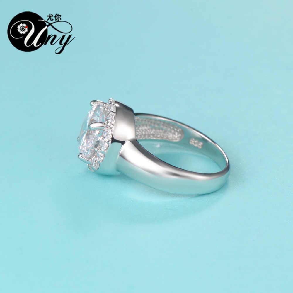 UNY кольцо Мода 925 серебро индивидуальная гравировка кольца семья Heirloom юбилей день Святого Валентина подарок кольцо женщина персонализированные кольца