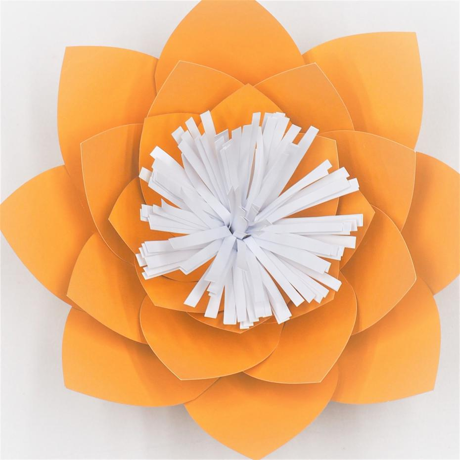 Aliexpress Buy 2018 Gold Half Made Giant Paper Flowers Diy