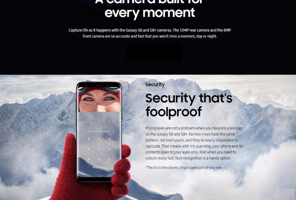 Best Deal] Original Samsung Galaxy S8 Plus SM G955U 4GB RAM