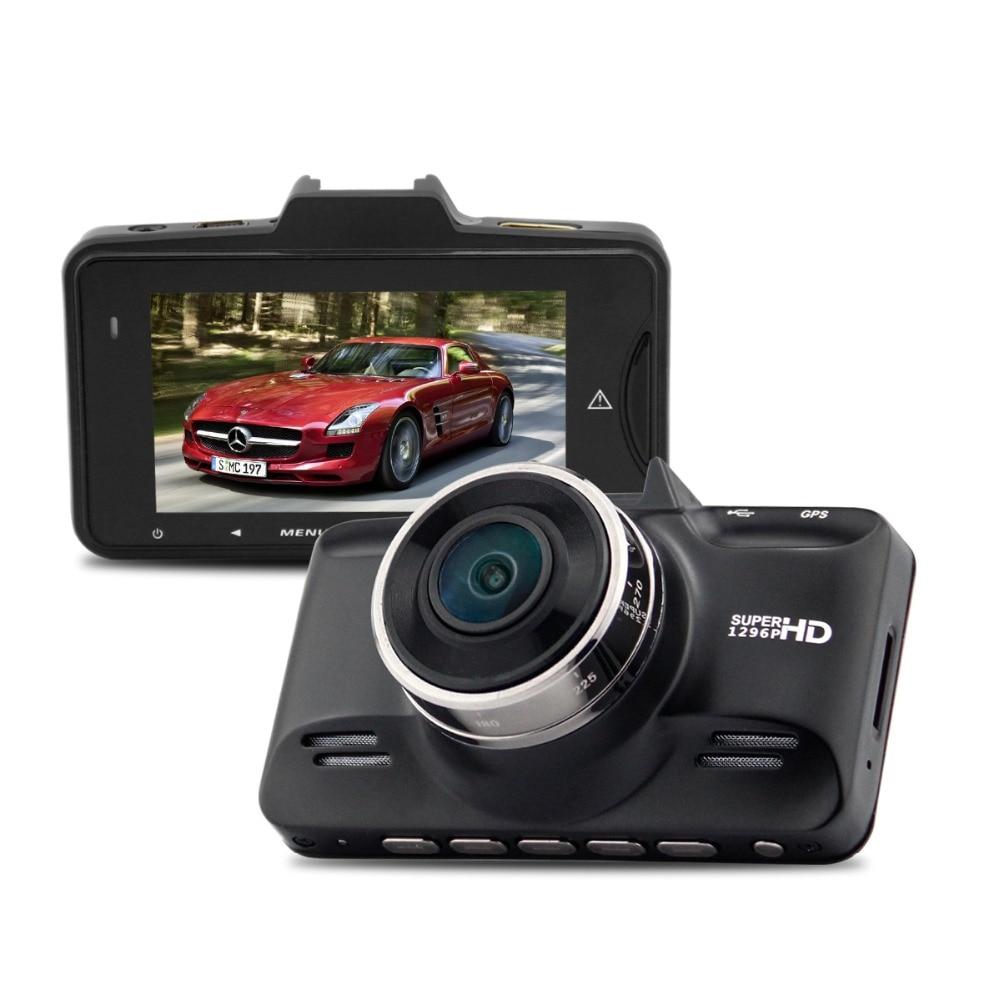 Car DVR Ambarella A7la70 2.7lcd 170 Degree FHD 1296P 60fps Video Recorder Camera With G-sensor HDR Dash Cam bigbigroad for nissan qashqai car wifi dvr driving video recorder novatek 96655 car black box g sensor dash cam night vision