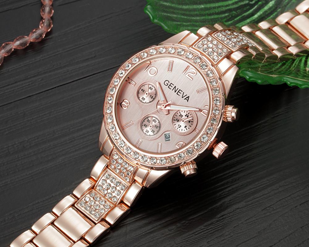 Branded Women Watches Top Brand Luxury 2017 Hot Sale relogio feminino Geneva Women Fashion Luxury Crystal Quartz Watch relojes (6)