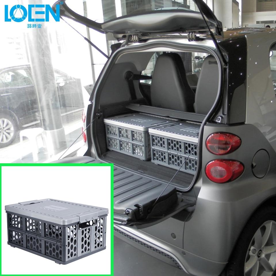 Opvouwbare multifunctionele auto Plastic Auto opbergdozen Container - Auto-interieur accessoires - Foto 5
