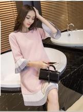 2019 new maternity clothing shirt large turn down collar long blouses pregnant clothing plus shirt