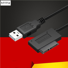 USB 2,0 Mini Sata II SATA2.0 7 + 6 13Pin адаптер конвертер кабель для компьютера ПК ноутбук CD DVD ROM привод Slimline Sata кабели