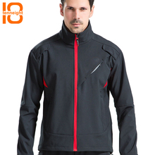 TENNEIGHT Зимняя Мужская ветрозащитная длинная велосипедная куртка MTB дорожный велосипед одежда пальто спортивная куртка Светоотражающая ветровка