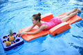 Swimming board floating lying Bed  out door floating sitting chair  folding bed recliner chair 8.5kg