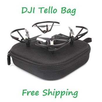 Przenośna pamięć masowa torba na DJI Tello ładowarka śmigła antypoślizgowy futerał do przenoszenia pudełko ochronne na akcesoria do dronów Tello tanie i dobre opinie CACHALOT 200g Drone pudełka 197x188x51mm Tello bag