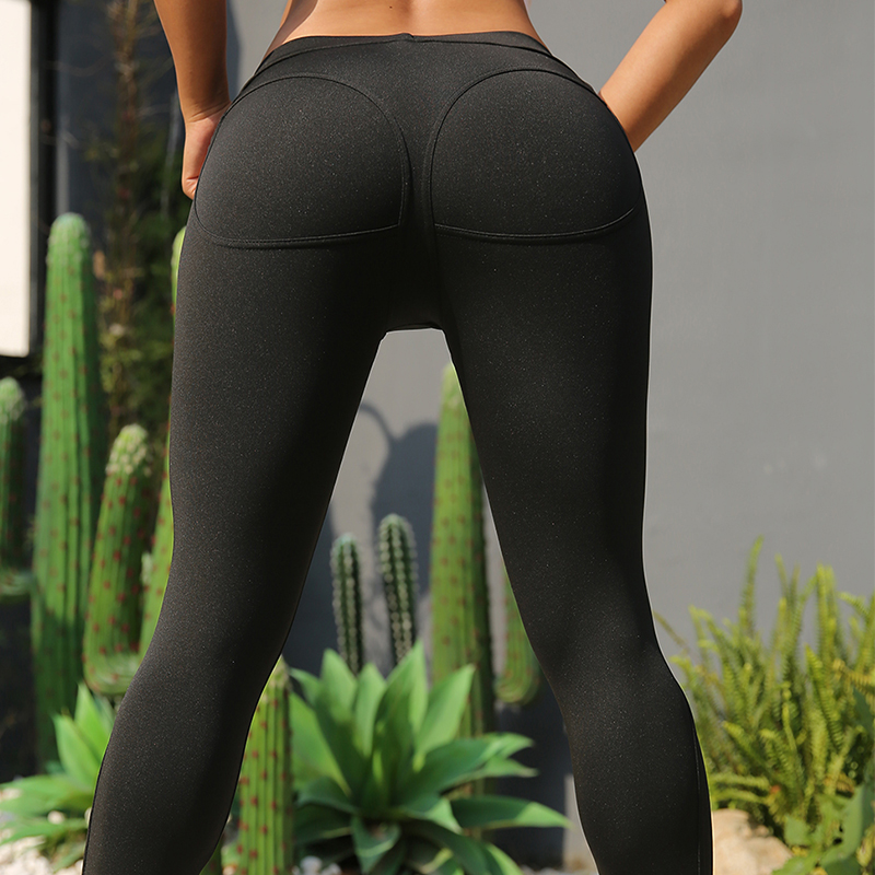 Sexy Booty Sport Leggings Women Bubble Butt Patchwork Pants High Waist Elastic Push Up Workout Leggins Mujer Gym Fitness Jogging in Leggings from Women 39 s Clothing