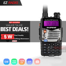 Walkie Talkie Baofeng UV-5RA Tragbare CB Radio UV5RA 136-174 MHz & 400-520 MHz baofeng uv-5r upgrade von UV 5RA ham radio UV5R(China)
