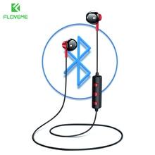 FLOVEME B11 Sport Music Bluetooth Earphone For iphone Hifi Stereo Sound Neckband Earpiece With Microphone Wireless Headset цена в Москве и Питере