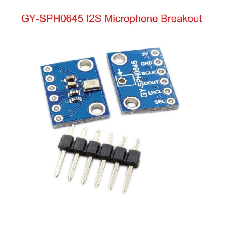 GY-SPH0645 I2S MEMS Module de capteur de rupture de Microphone SPH0645LM4H pour Arduino Zero FZ3483GY-SPH0645 I2S MEMS Module de capteur de rupture de Microphone SPH0645LM4H pour Arduino Zero FZ3483