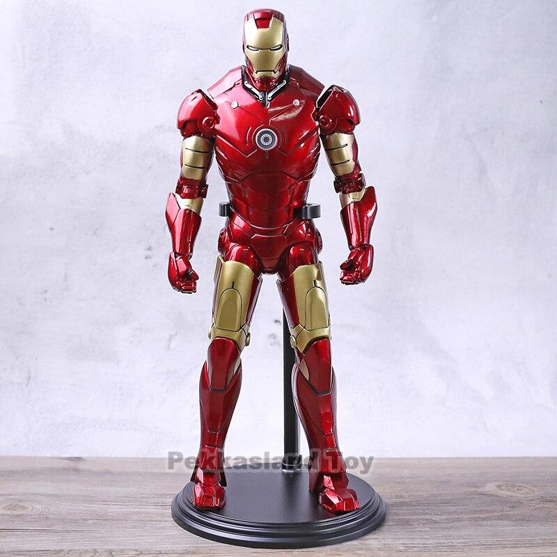 Ironman Action modèle jouet 1/6 échelle fer homme Marvel PVC à collectionner Avengers Infinity War Figure
