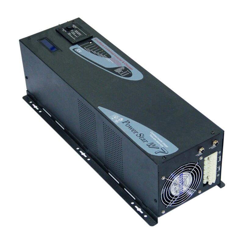 MAYLAR@ 24V 4000W Peak Power 8000W Off-grid Pure Sine Wave Solar Power Inverter Charger battery LCD Display 90-240Vac 50Hz/60Hz decen 48v 4000w peak power 8000w off grid pure sine wave solar power inverter with charger lcd display 90 240vac 50hz 60hz