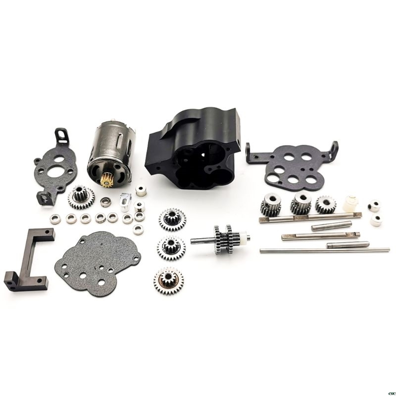 Fast Slow All-metal Two-Speed <font><b>Gearbox</b></font> DIY Upgrade Parts for <font><b>RC</b></font> WPL MN 4WD 6WD Climbing Off-road <font><b>RC</b></font> Car Accessories image