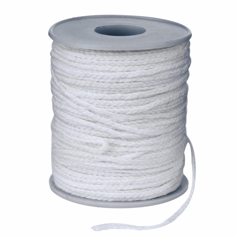 20m Non-Toxic Environmental Spool Of Cotton Braid Candle Wicks Wick Core For DIY Oil Lamps Handmade Candle Making Supplies