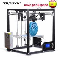 2017 Newest 3D Printer Large 210 210 280mm Metal Frame High Quality Precision DIY Kit Filament