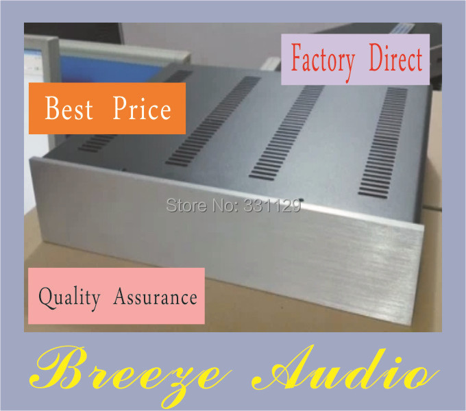Breeze Audio high quality standard aluminum chassis ST4309 it can be used to premp DAC and