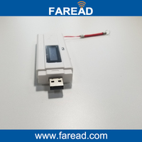 Free Shipping 134 2khz USB Mini Portable RFID Reader Animal ID Reader 2 Pcs Microchip