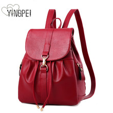 Women Backpack High Quality PU Women Bag Leather School Bags For Teenagers Girls Fashion Korean Style Large capacity Luxury women backpack high quality pu leather sac a main school bags for teenagers girls top handle large capacity student package