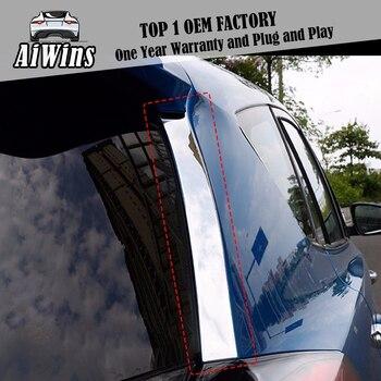 2 Pcs Mobil Styling Belakang Sisi Sayap Penutup Stiker untuk Toyota RAV4 2014 2015 2016 Kembali Pintu Eksterior Dekorasi aksesoris