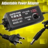 AC DC Supply 9 24V 3A 72W Adjustable Power Adapter Speed Control Volt Display ALI88