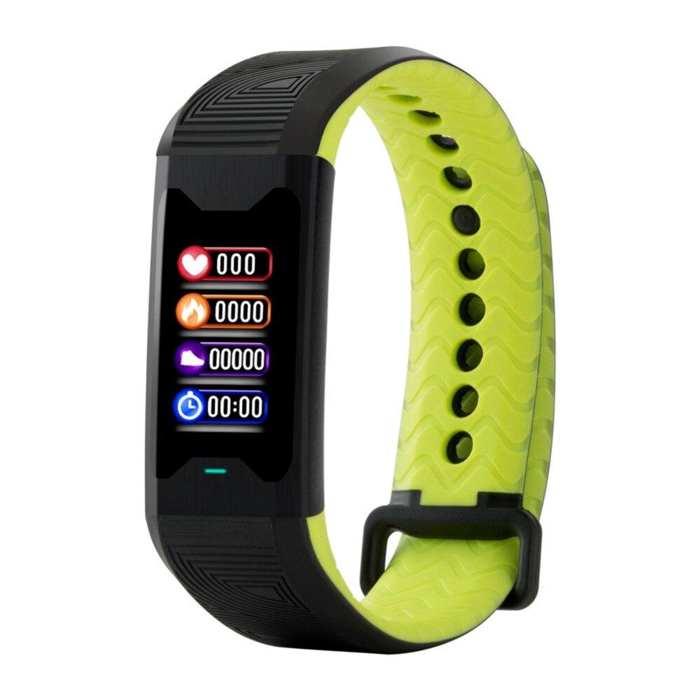 Bracelet à puce trouble respiratoire VRC variabilité de la fréquence cardiaque surveillance en oxygène du sang Sang pression Podomètre intelligent bracelet