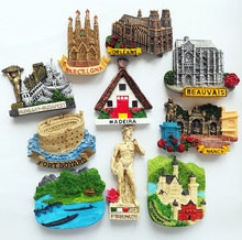 Buy france souvenirs and get free shipping on aliexpress european world tourism souvenirs laos france germany italy resin refrigerator fridge 3d magnet sticker travel decoration publicscrutiny Images