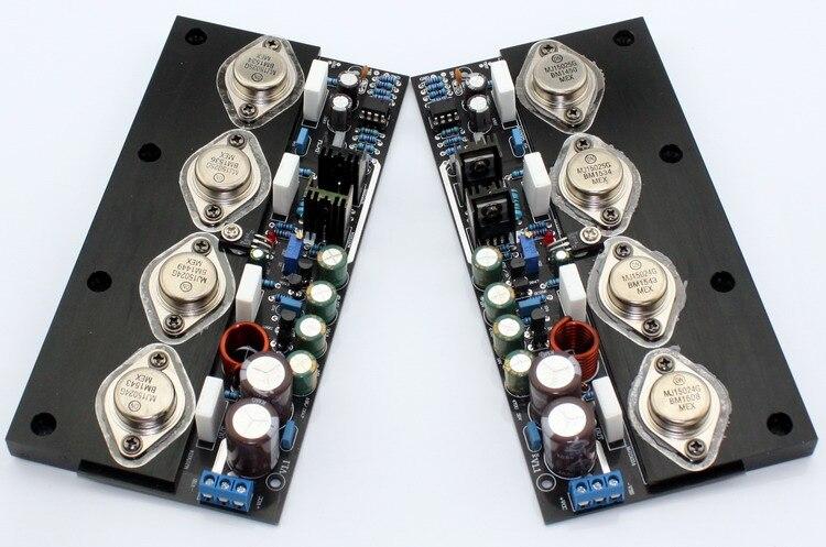 DC25-35V 20W / 8 ohms, 40W / 4 ohms. 80W / 2 ohms MJ15024 / MJ15025 No feedback class A amplifier board преобразователь no dc dc 10 4 35v 1 25 25 2a cc cv