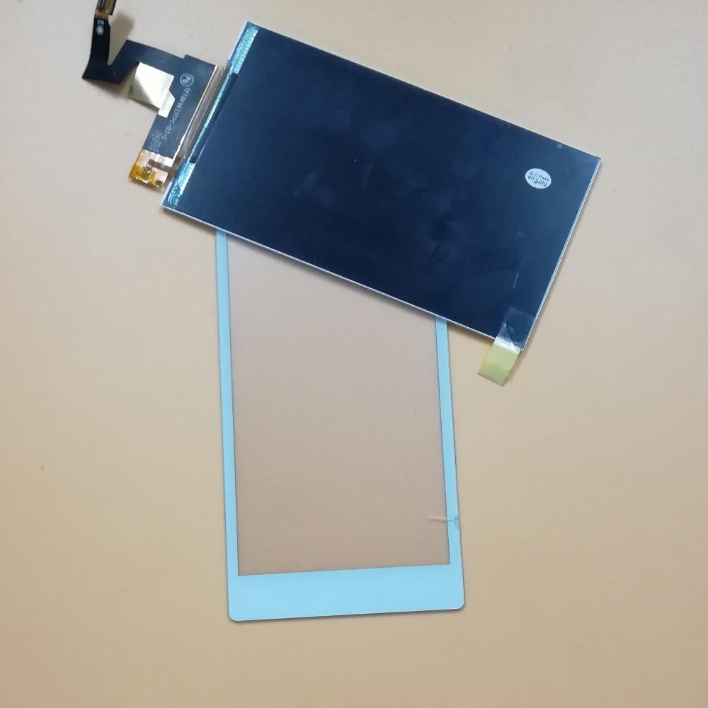 Noir/Blanc Pour Sony Xperia M2 S50H D2302 D2303 D2305 D2306 Écran Tactile Digitizer Verre Capteur + LCD Moniteur à Écran