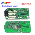 Quality TCS cdp without bluetooth single green PCB board 2014.3 software free keygen cdp+car / trucks diagnostic tool