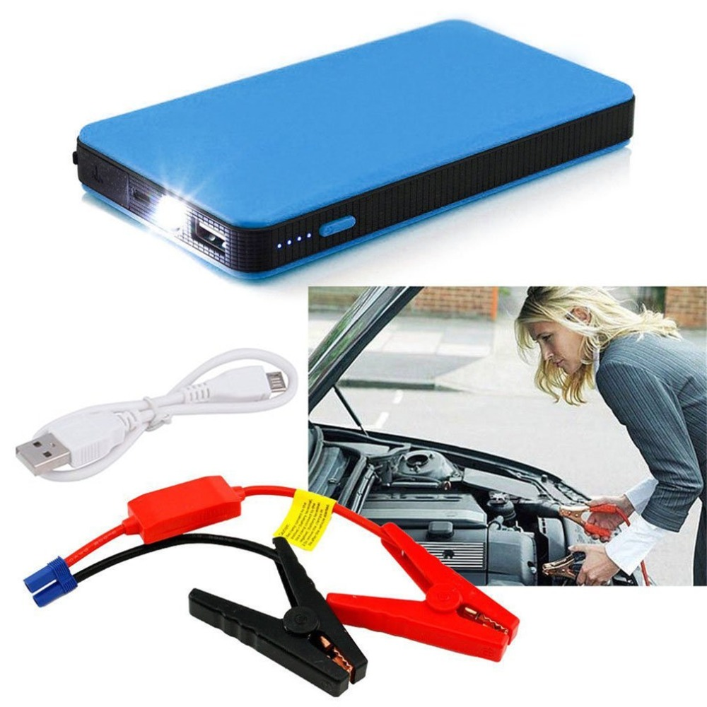 Utral-thin Car Jump Start 20000mAh 12V Auto Engine EPS Darurat Mulai Sumber Baterai Charger Portabel Laptop
