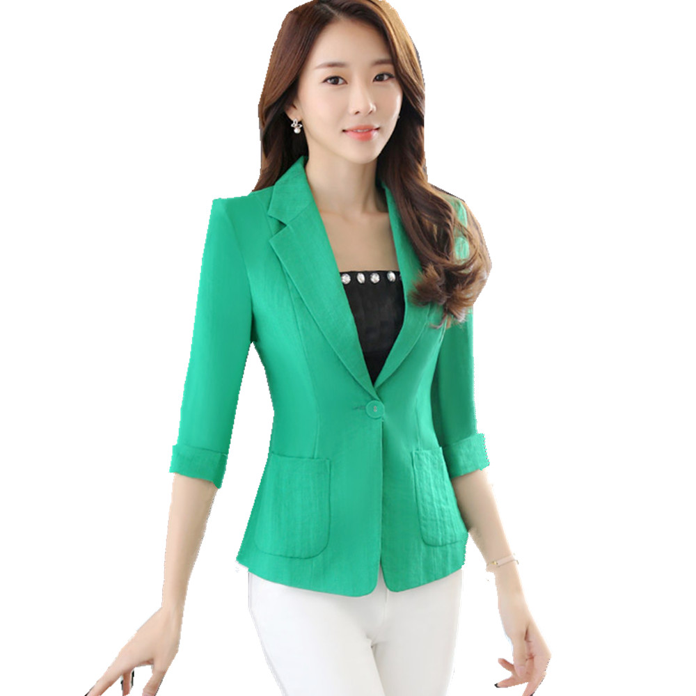 Online Get Cheap Women Green Blazer -Aliexpress.com | Alibaba Group