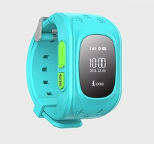 Smart watch Children Kid SOS Call safe for children Wristwatch Q50 GSM GPRS GPS Locator Baby Gift PK Q80 Q60 with SIM card