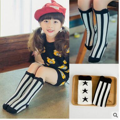 New Baby Girls leg warmer Fox Cotton Cute Little Character Knee Socks Kid Clothing unisex Toddler Boot Kids Socks Cartoon