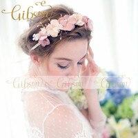 Free Shipping Handmae Bridal Tiara Headpiece Wedding Hair Accessories For Karen