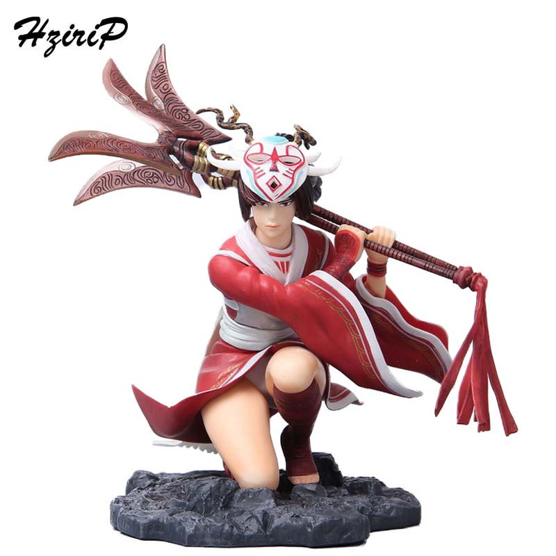 HziriP LOL Doll Model Action Figures Toys Home Decoration Game Anime High Quality PVC Toy With Box For Kids Birthday Gifts high quality anime lol pvc action figures lee sin the blind monk yasuo master yi figures model toys for boy s birthday gift