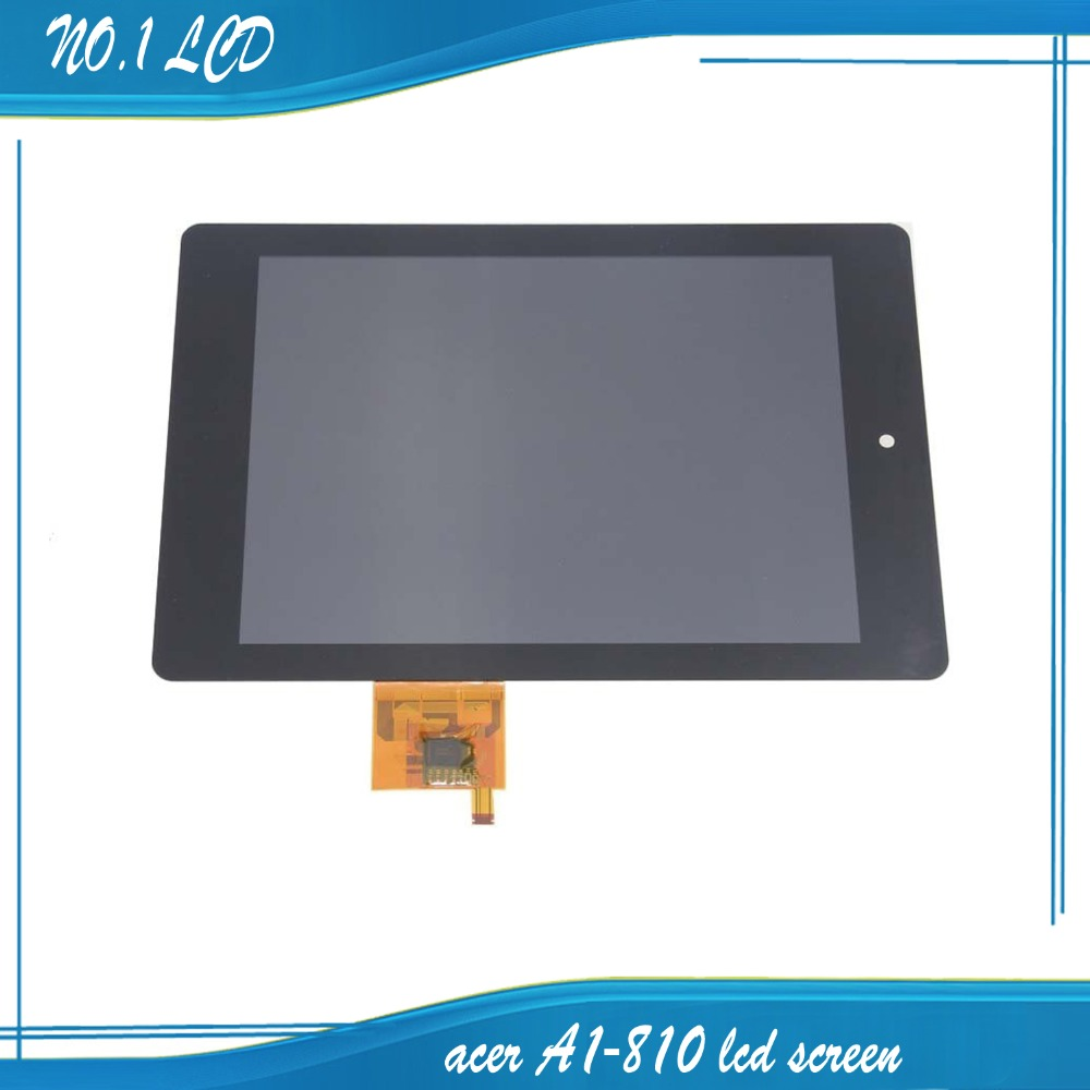 For 7.9 Acer Iconia A1 A1-810 Tab LCD Display Screen Touch Screen Touch Panel Digitizer Glass Assembly Repair Parts Replacement
