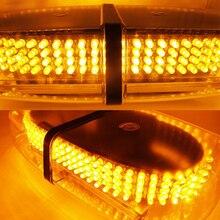 240 LED Овальный 12 В Крыше Аварийного Опасности Предупреждение/Мини-Бар Strobe Light-Магнитное Основание Для Ford BMW E46 E53 E65 JEEP MERCEDES