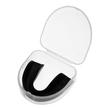 Прозрачная резинка щит зубы протектор рот guard кусок для регби, спортивных баскетбола Футбол Регби боксерские капы Прочный ПВХ зуб рукав