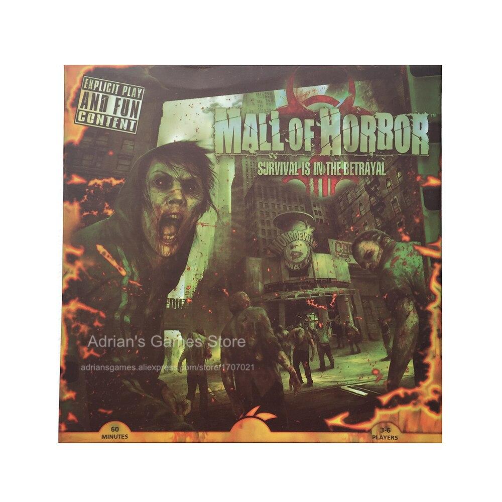 Centrum handlowe Mall of Horror gry planszowe Zombie gra o przetrwaniu 3 6 graczy 60 min Age14 + Zombie Jeu de Societe w Gry planszowe od Sport i rozrywka na AliExpress - 11.11_Double 11Singles' Day 1