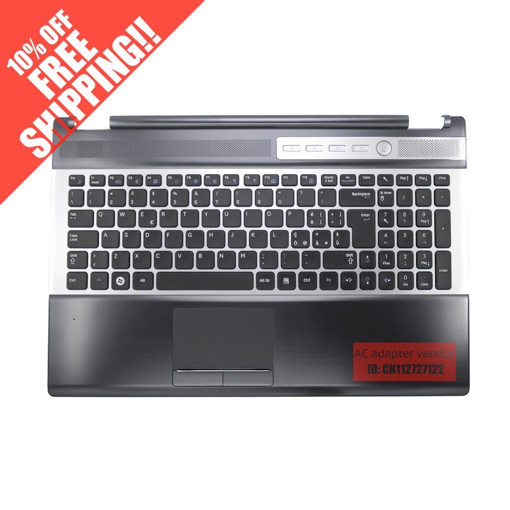 Notebook samsung com teclado numerico - Para Samsung Rf510 Rf511 Notebook Teclado Com C Shell Toque Orador Pad China Mainland