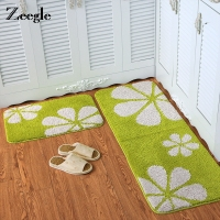 Zeegle 45X120cm Kitchen Mat Home Absorb Water Kitchen Rug Entrance/Hallway Doormat Anti Slip Bathroom Carpet